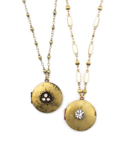 Vintage locket necklace - $65.