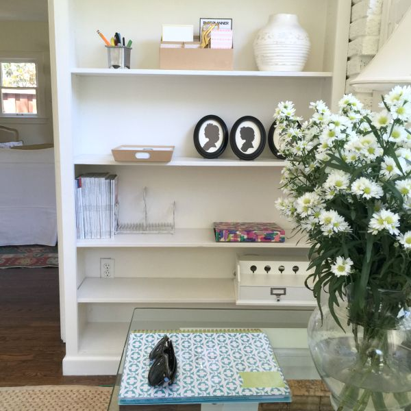 office, flowers, silhouettes, day designer