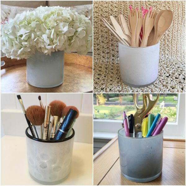 LAFCO COLLAGE, lafco vase, Reuse LAFCO candles, LAFCO candle ideas