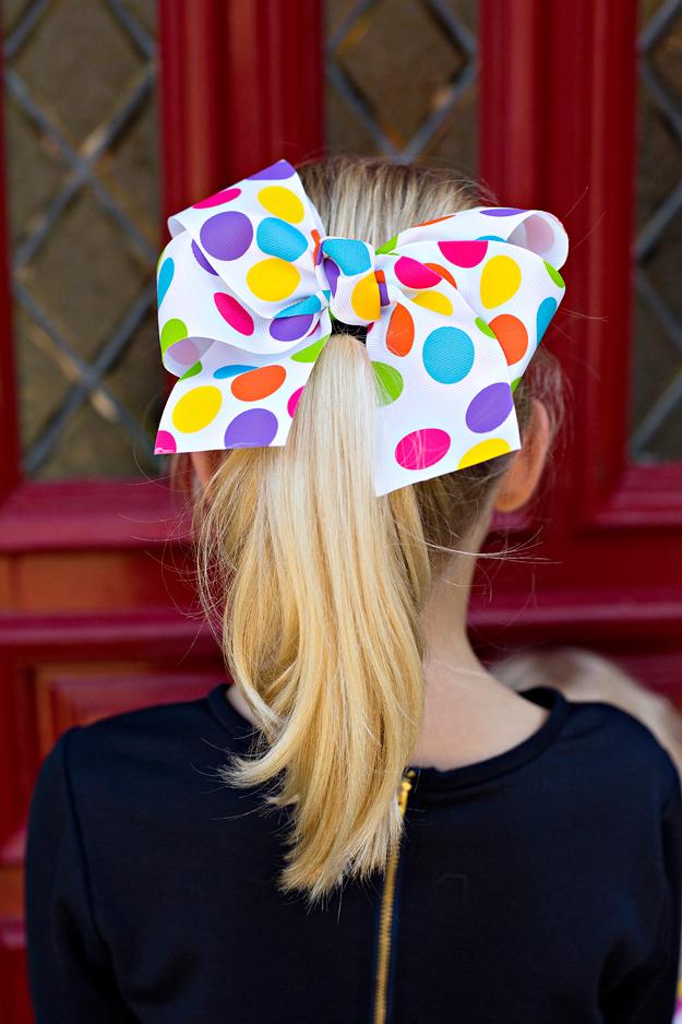 bow, big bow, girl christmas gift, holiday gift, stocking stuffer for girl