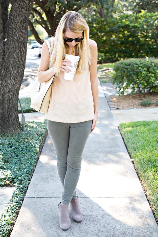 blondo booties, joia bag, saint bernard sports, dallas fashion blogger, dallas, blogger, mom uniform