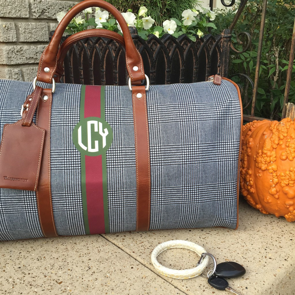 barrington gifts, weekender bag, gift idea, dallas blogger