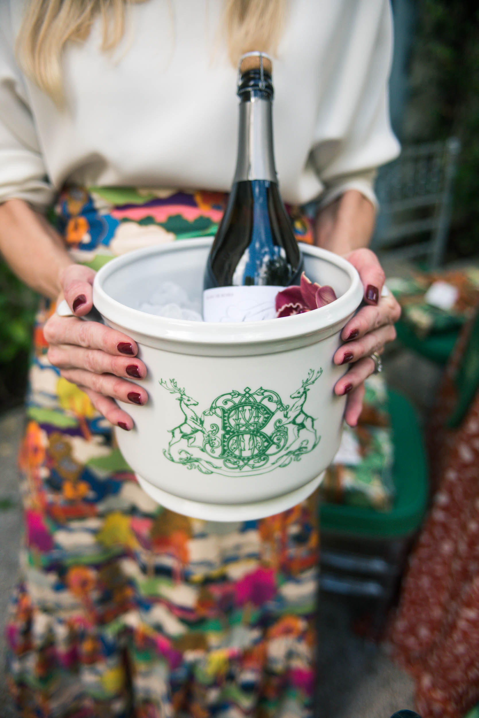 sasha nicholas champagne bucket