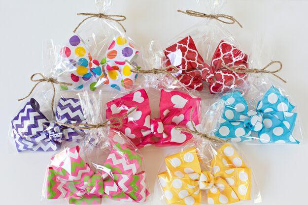 big bows, minnie mouse bows, polka dots, girl gift
