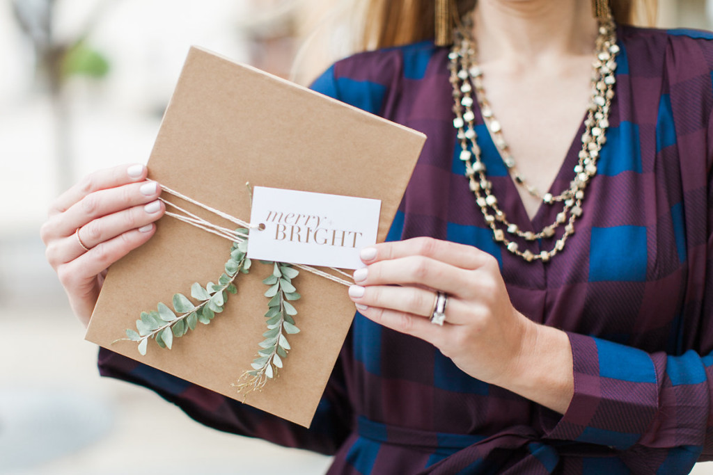 holiday gift wrapping, neutral gift wrapping, ara collective