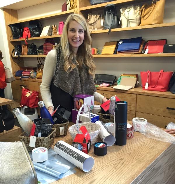 yeti, candle, gift basket, holiday gift ideas, dallas blogger, saint bernard