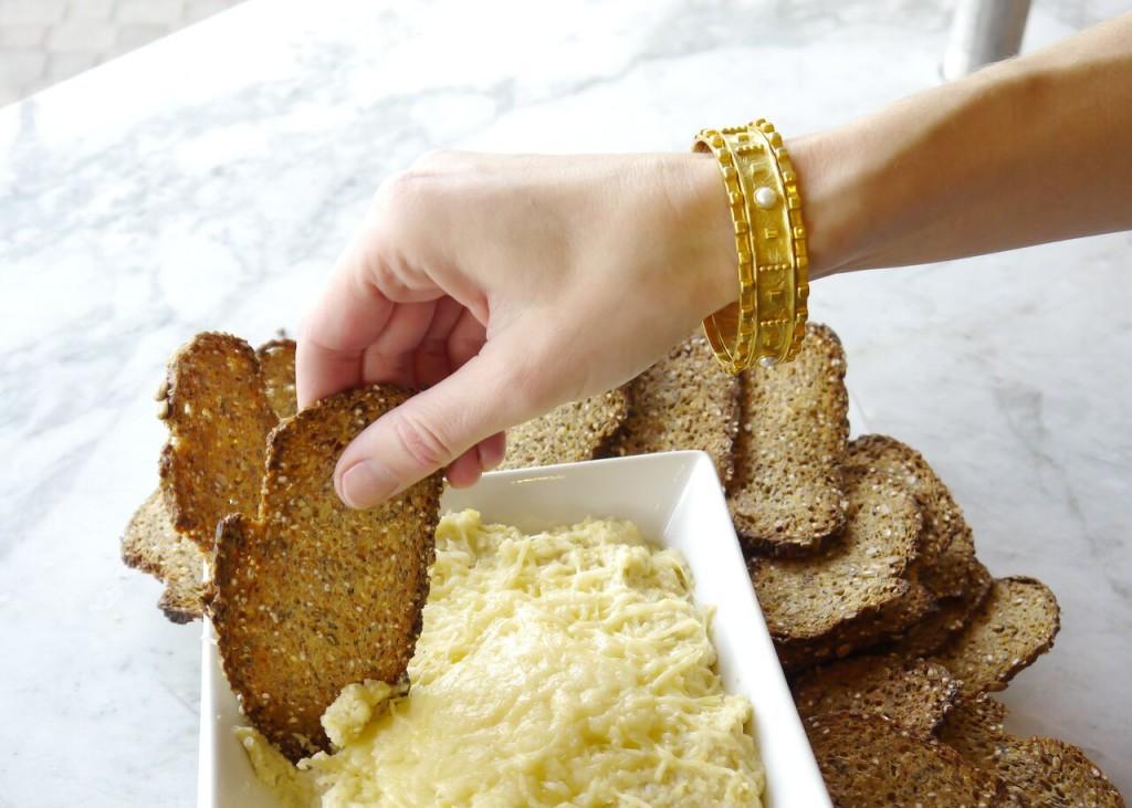 artichoke parmasean dip, julie vos, empire bakery dallas, inwood village