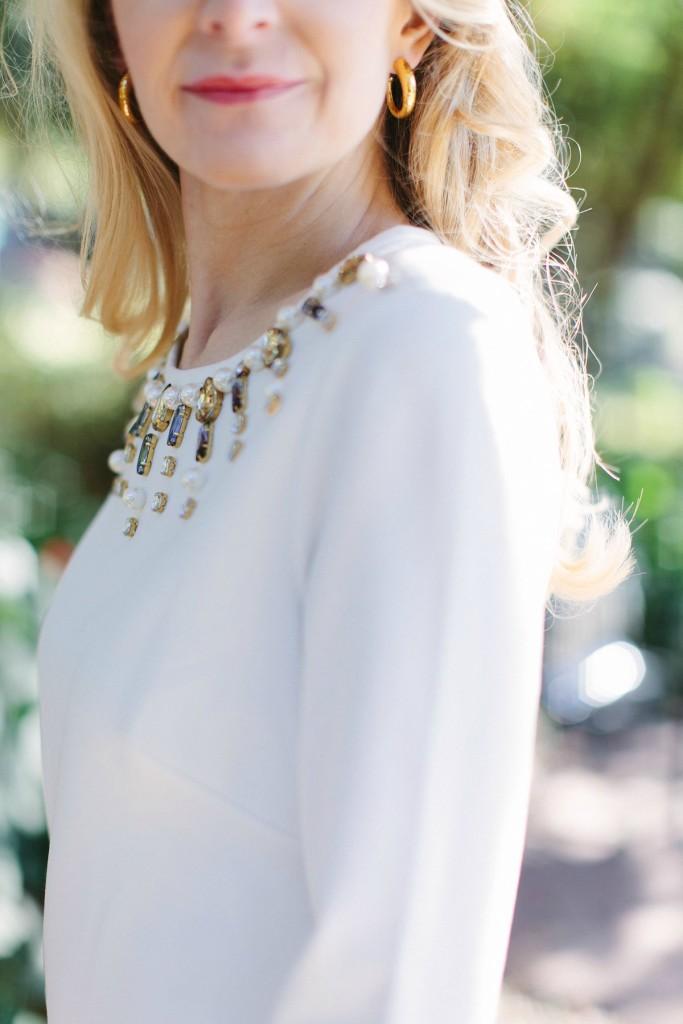 earrings, julie vos, dallas fashion blogger, hoop earrings