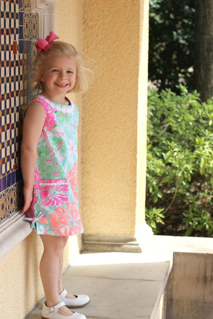 lillygirl, lily pulitzer, spring, easter dress, dallas blogger