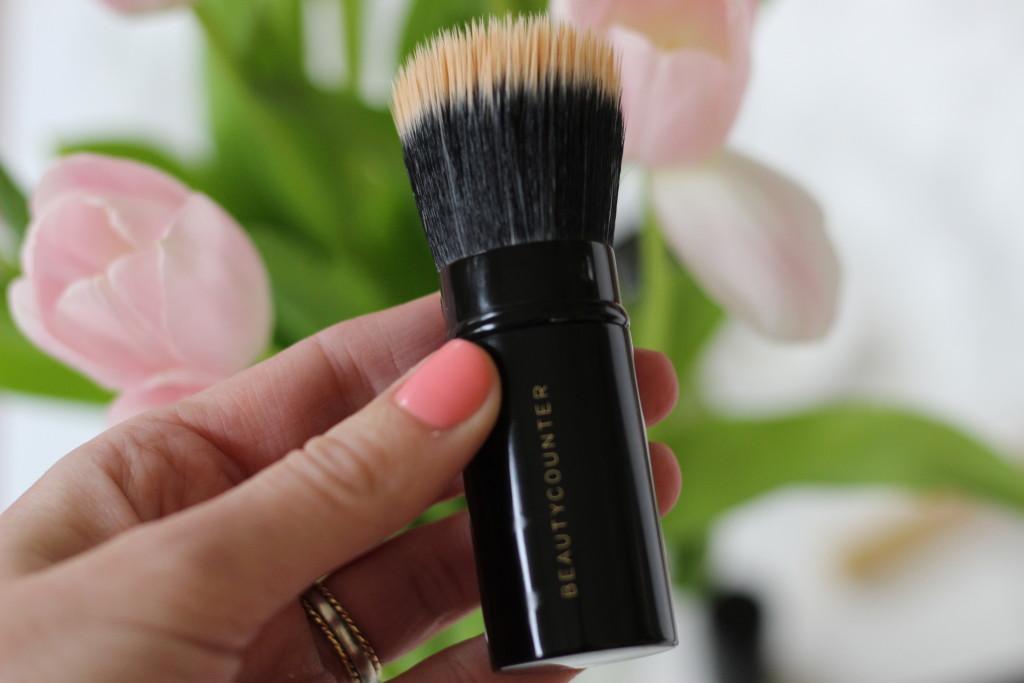 beauty counter makeup brush