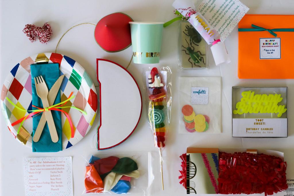 birthday morning kit