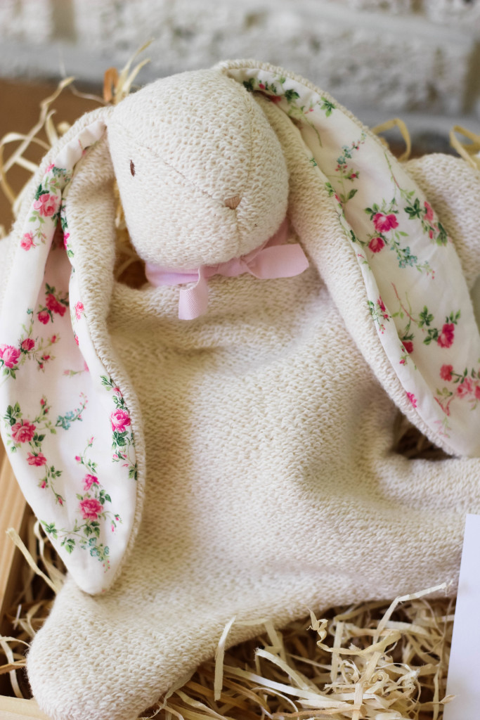 elizabeth layne heirloom, lovey, bunny, liberty of london