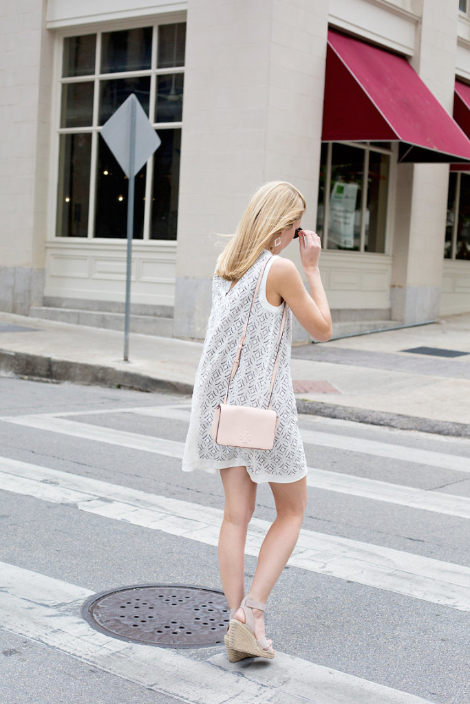 nic + zoe lace dress from nordstrom