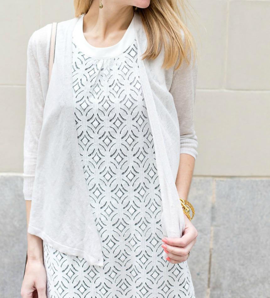 nic + zoe lace dress