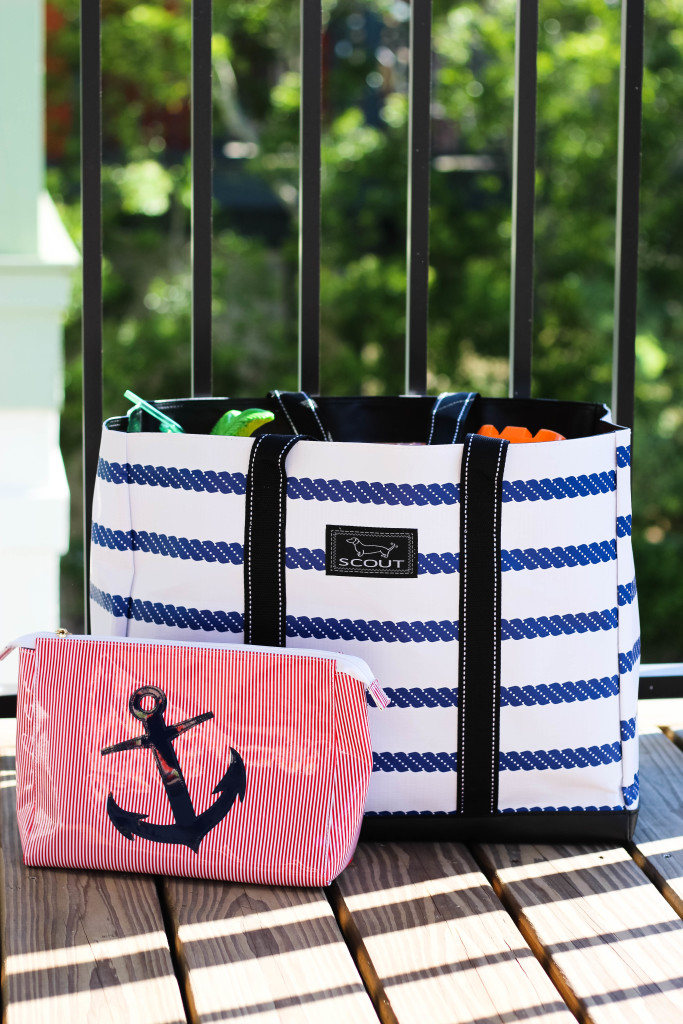 SCOUT beach bag and Lolo bag