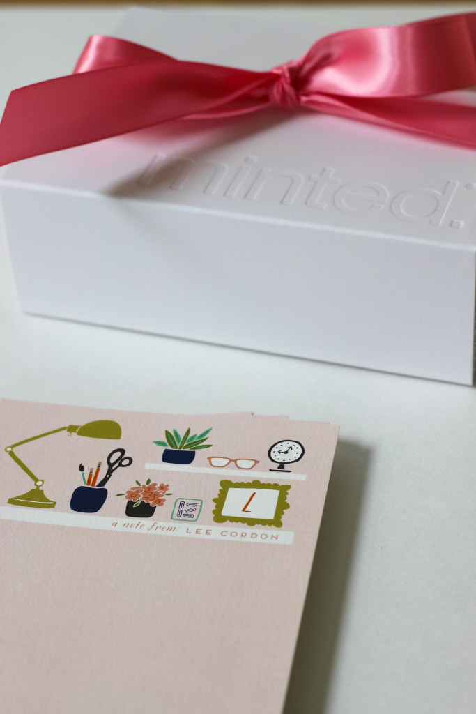 minted stationery gift