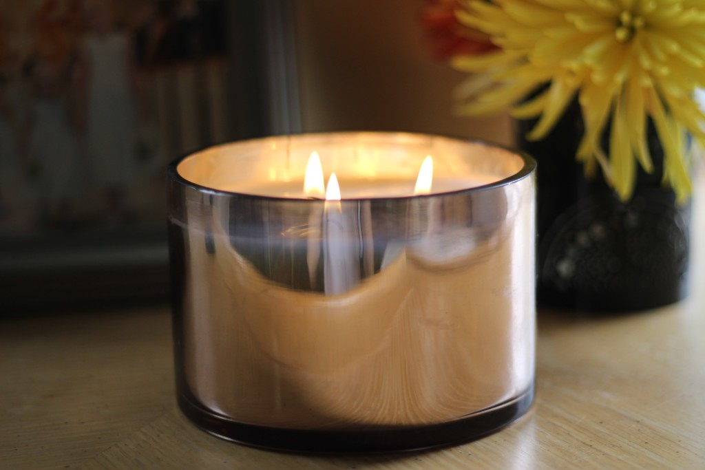 harvest spice candle