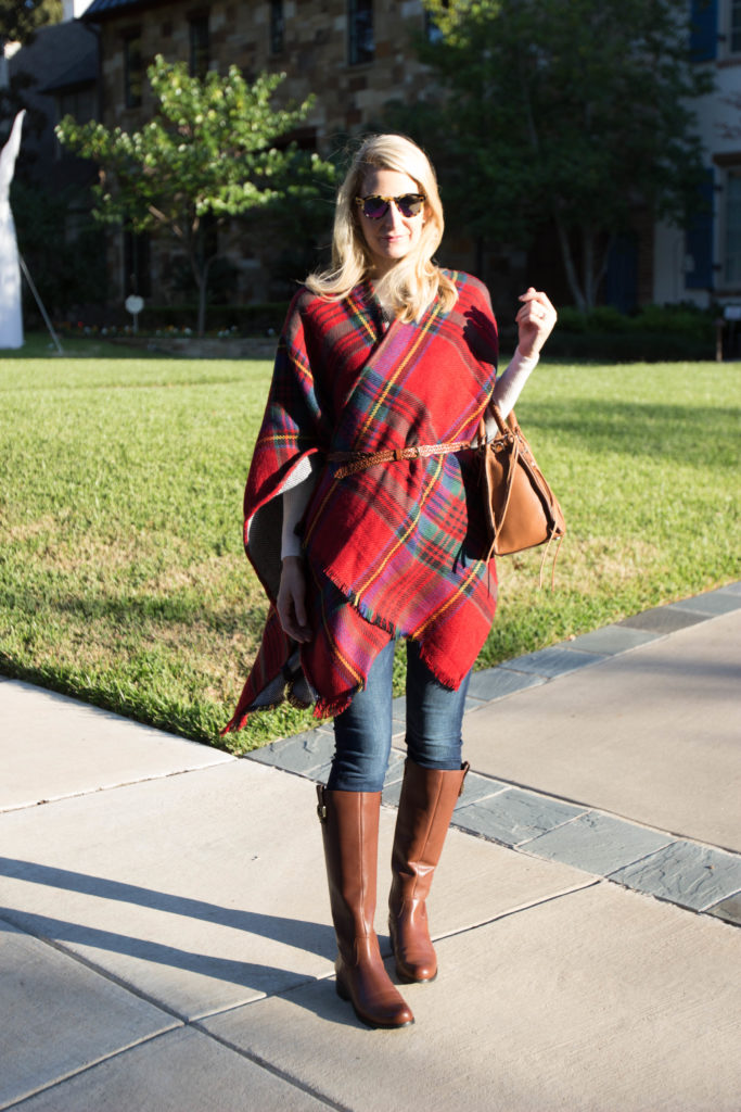 red plaid cape nordstrom