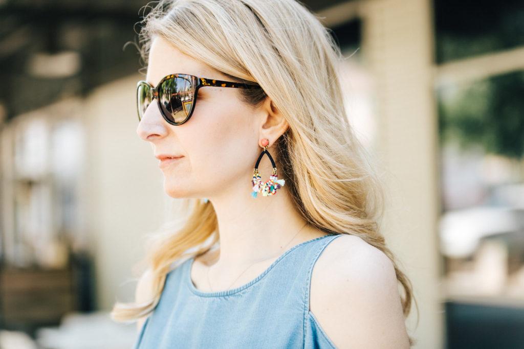 bauble bar merengue earrings