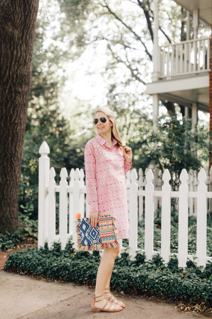 roberta roller rabbit red dress