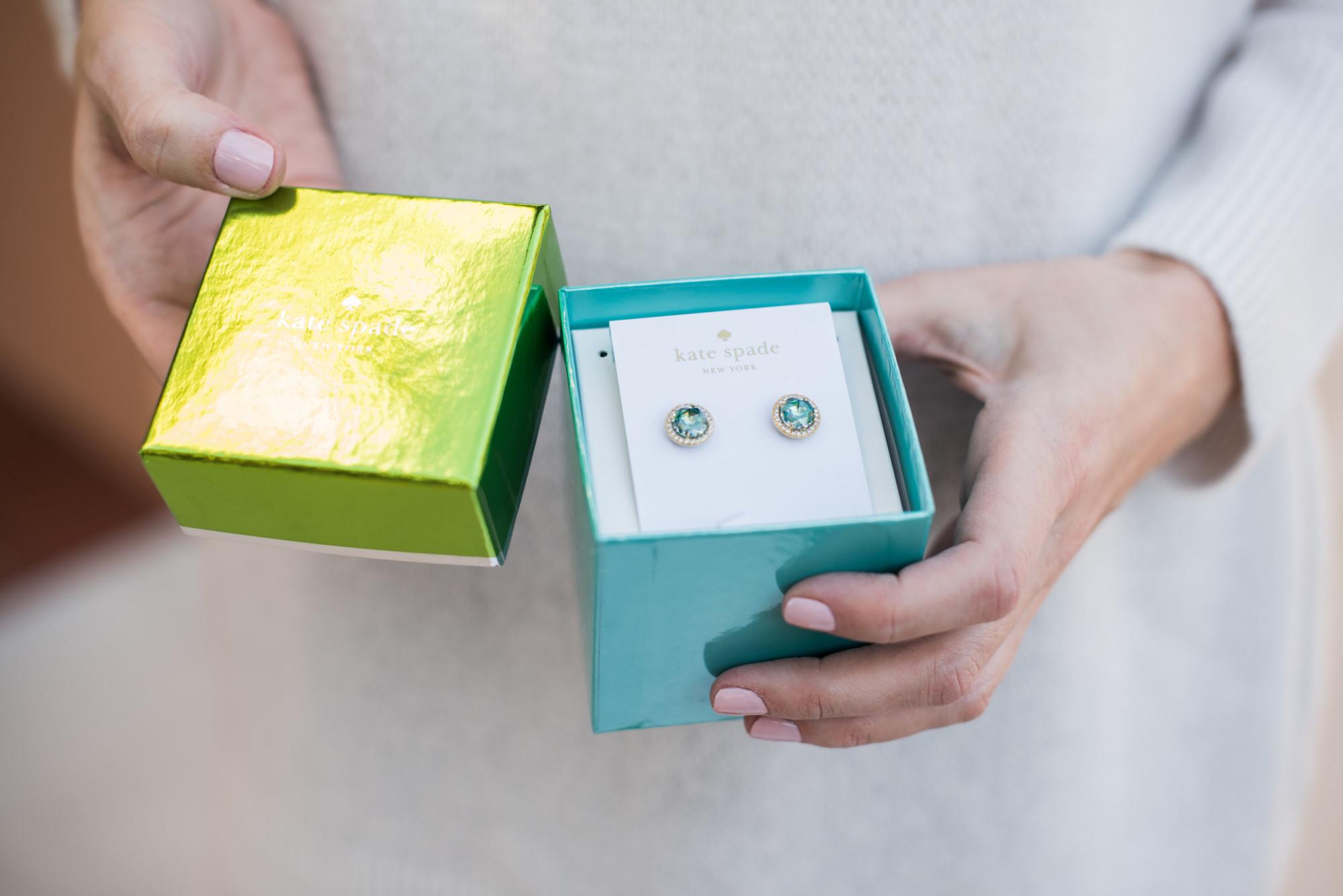 kate spade jewelry gift