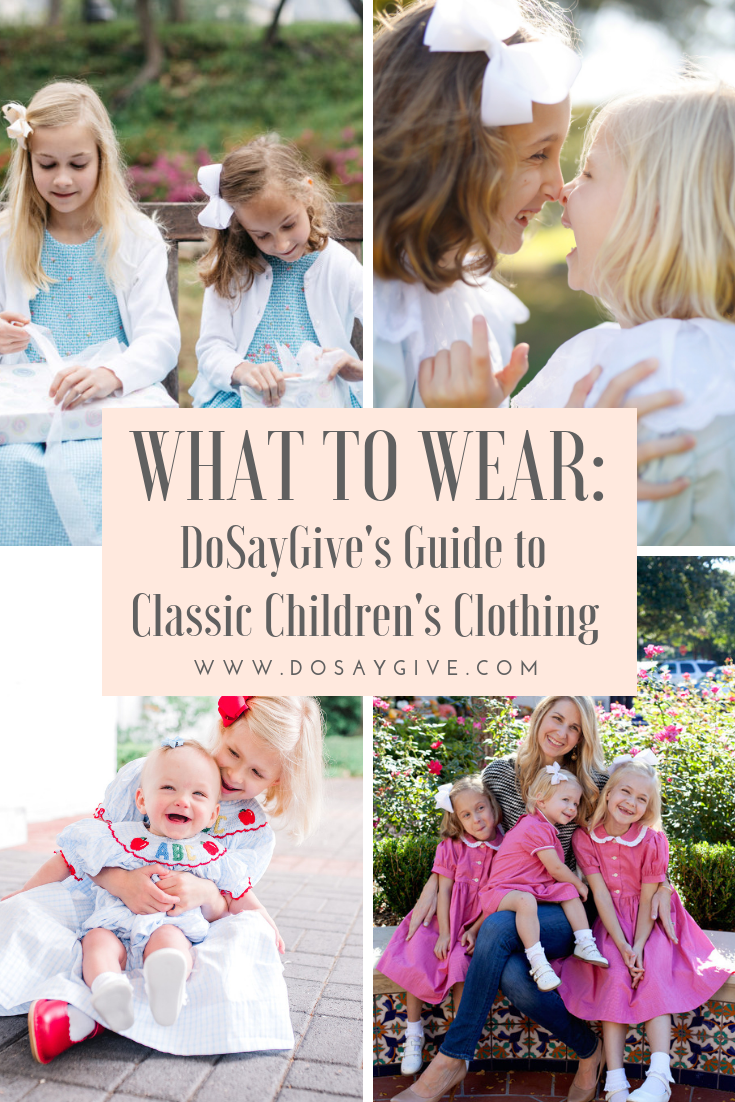 Classic Children's Clothes