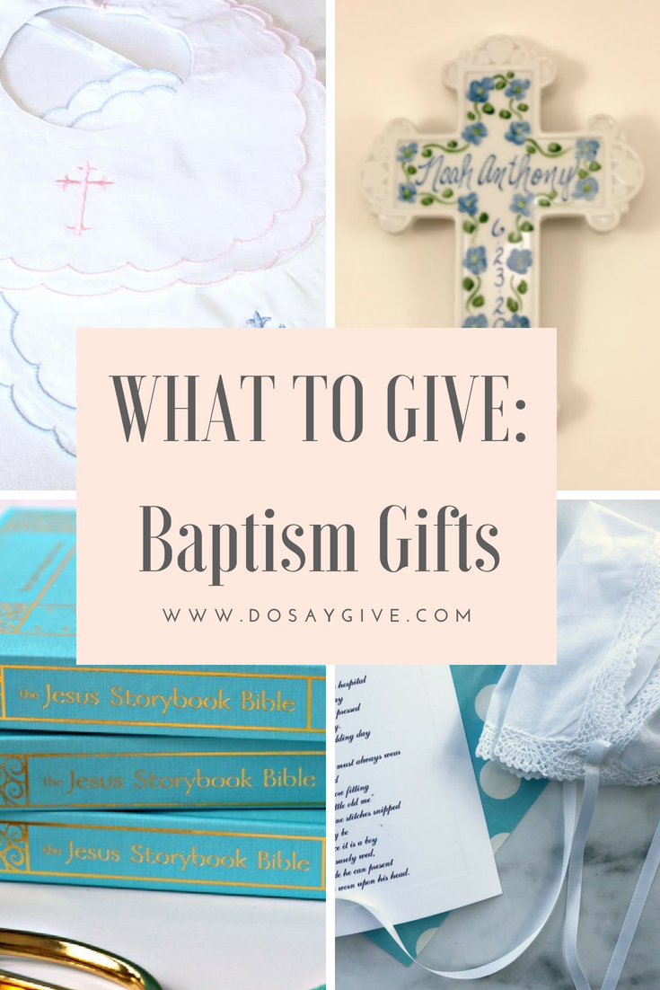 Special Baptism Gifts