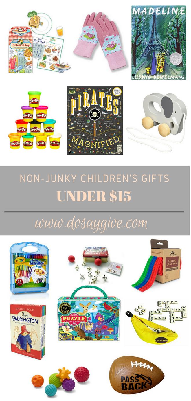 children's gifts under $15