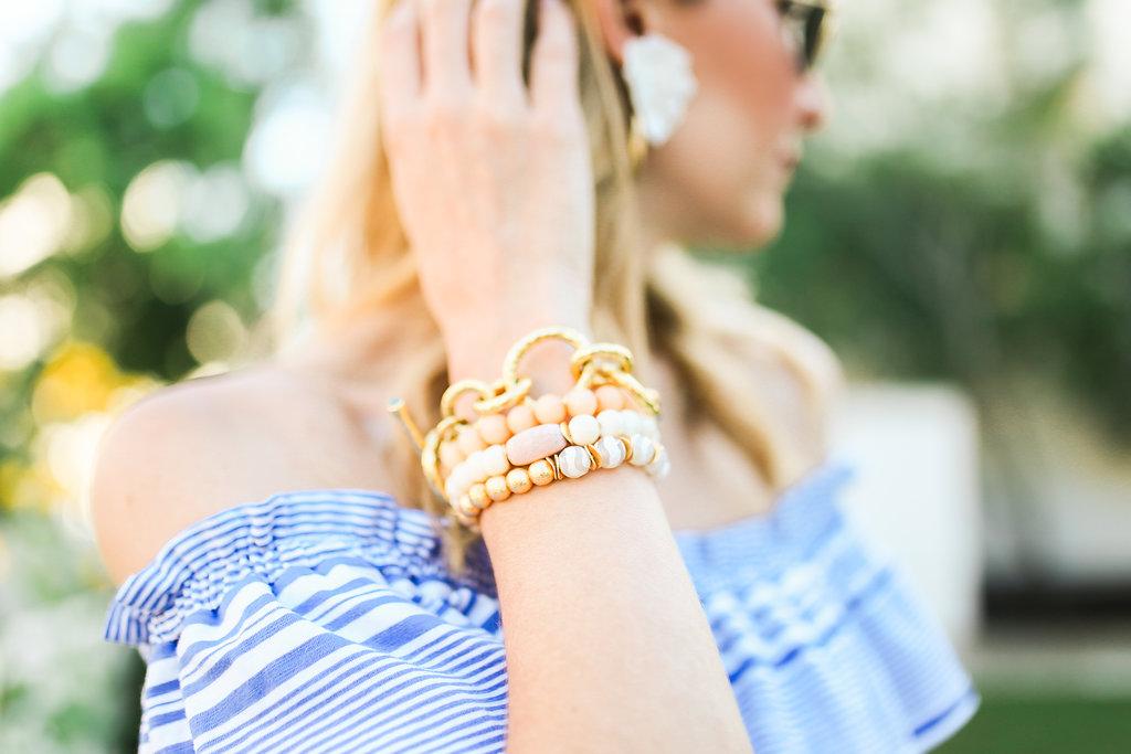 julie vos link bracelet