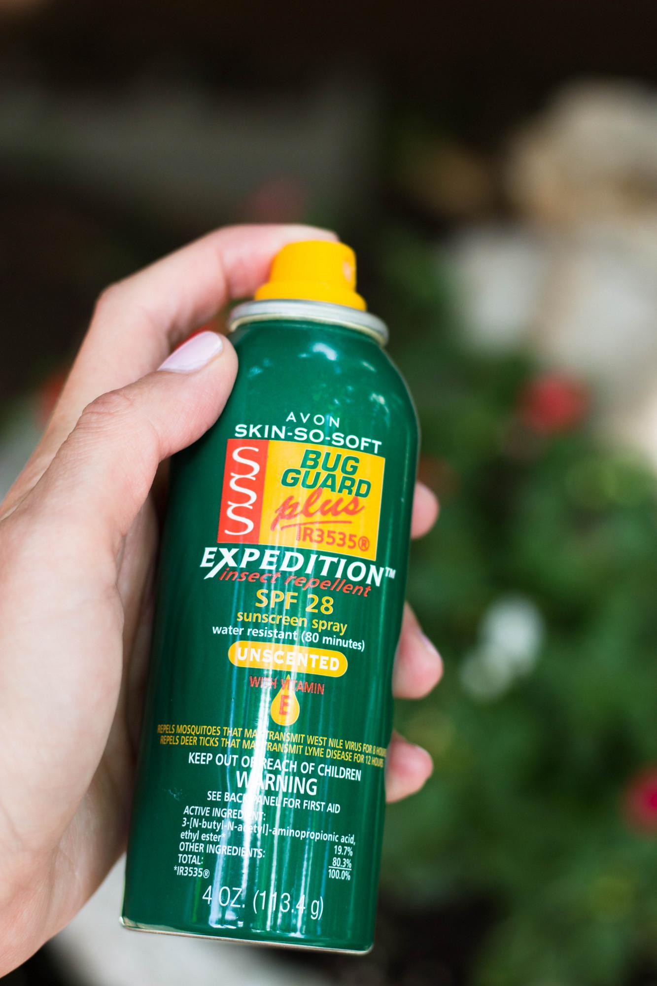 avon bug spray
