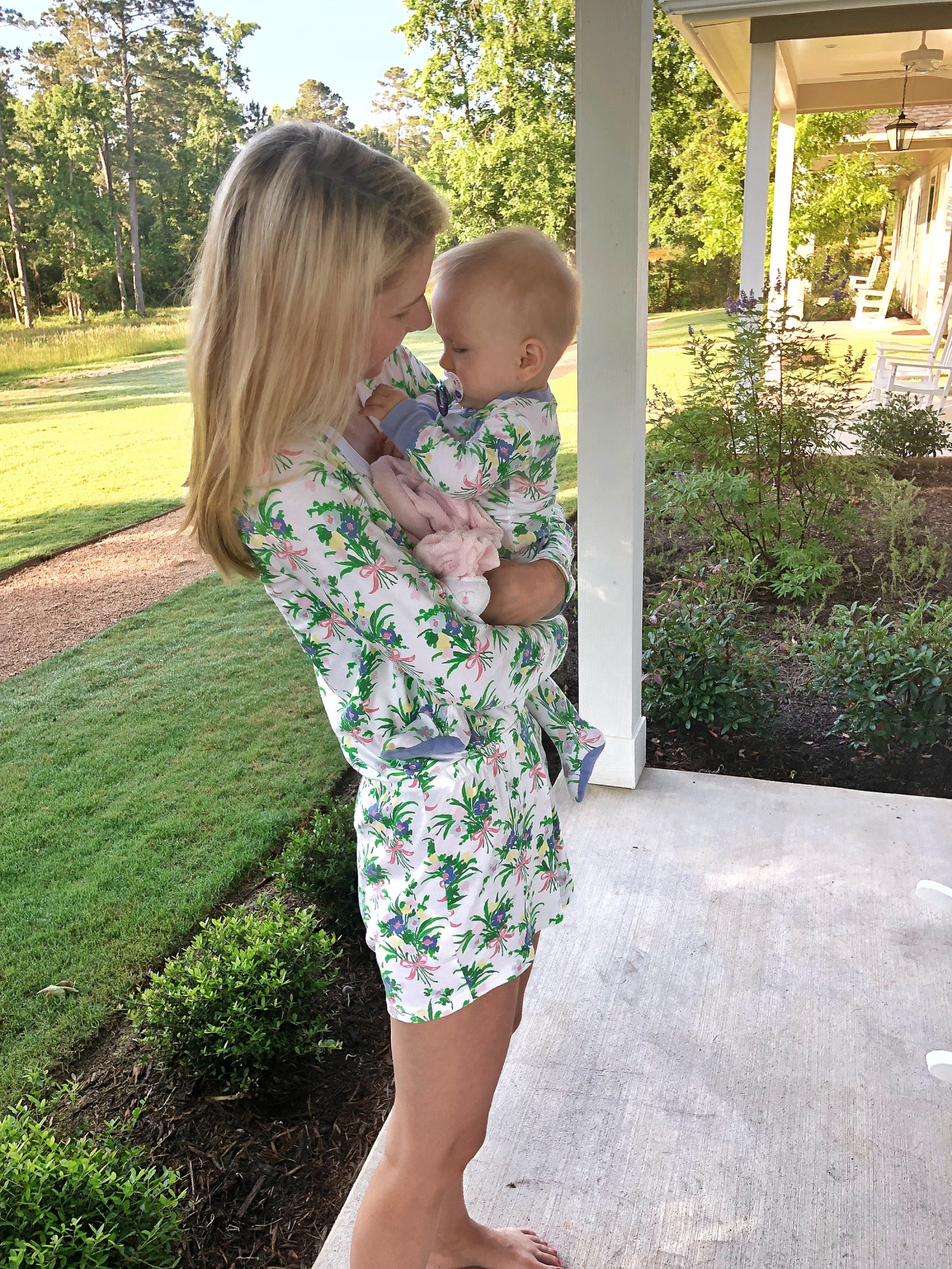 mommy and me romper