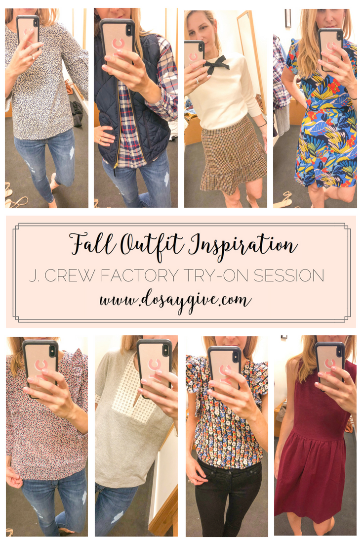 e8078128ab J. Crew Factory Try-On Session