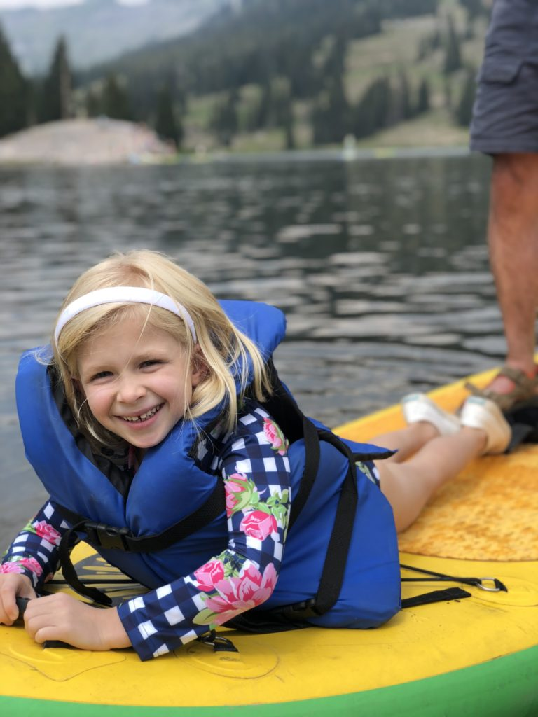 lake irwin paddle boarding