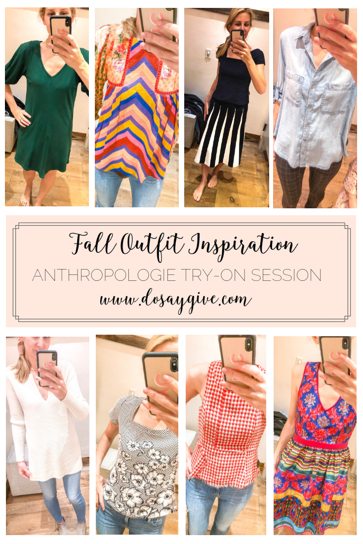 Anthropologie Try-On Session