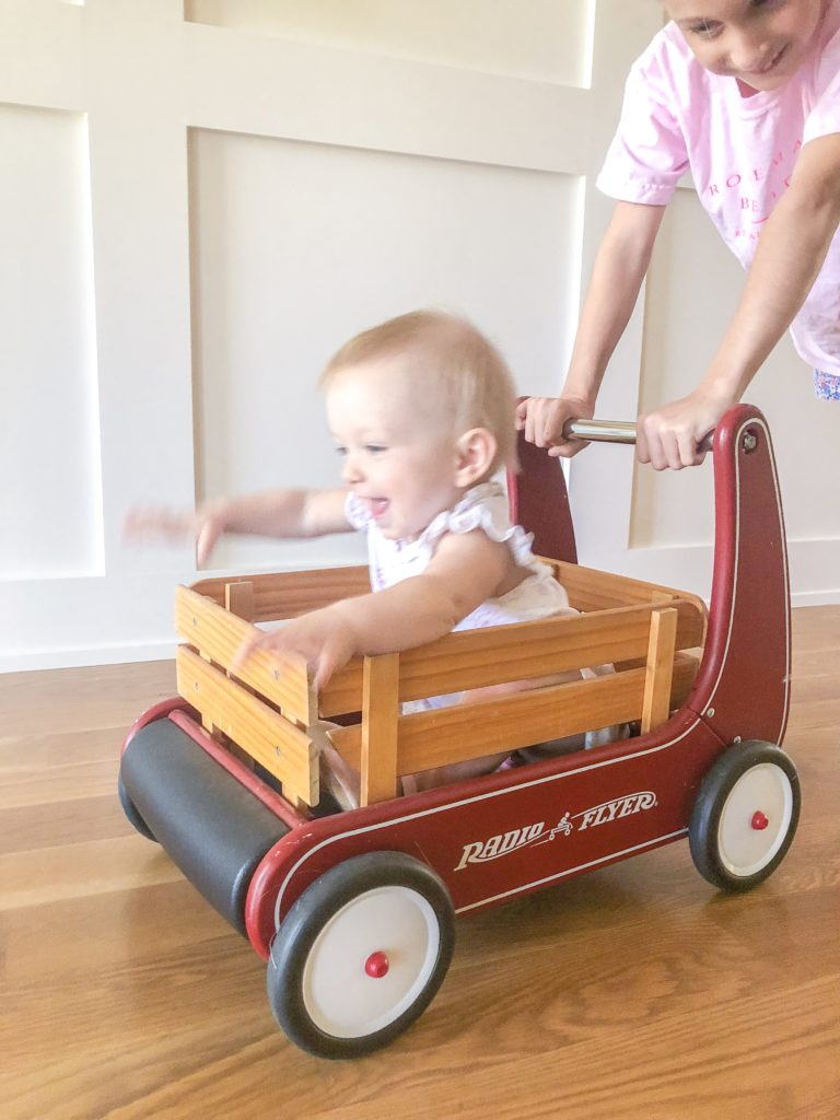 radio flyer push walker