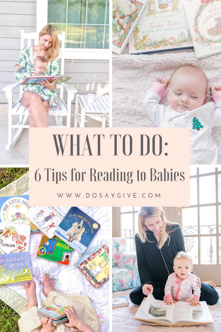 Tips for reading to babies
