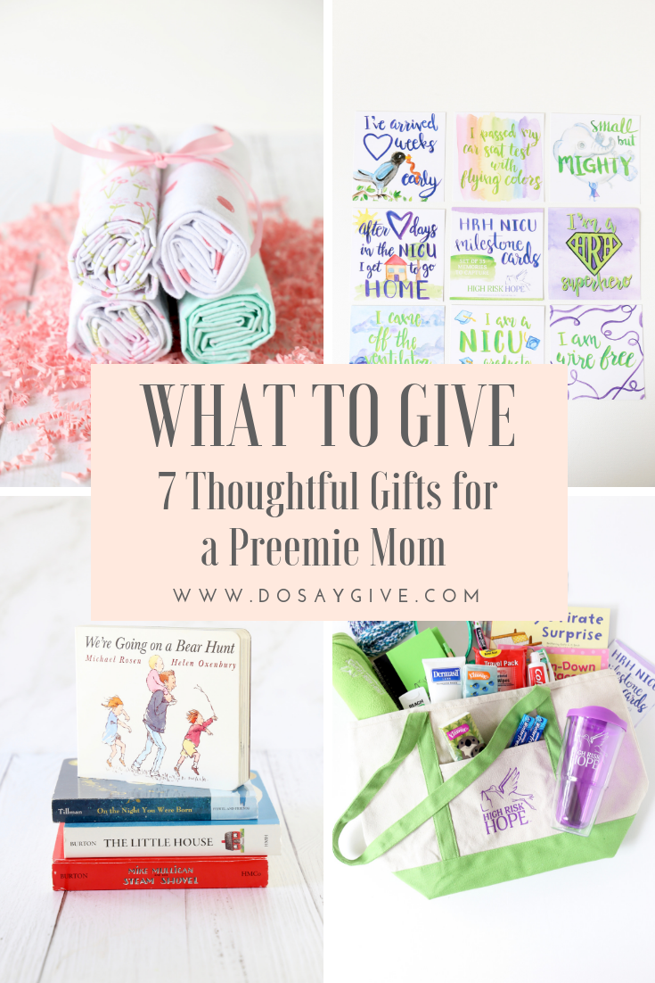7 thoughtful gifts for a preemie mom