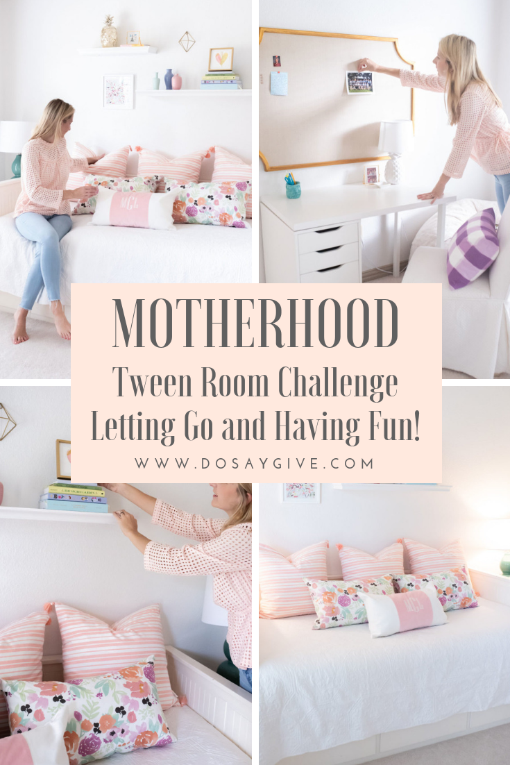 Tween Room Challenge: Letting Go and Having Fun!