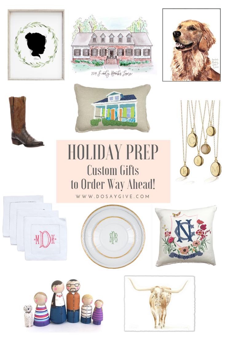 custom gifts to order way ahead