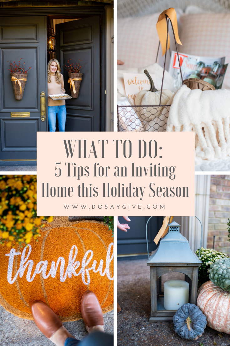 5 tips for an inviting home this holiday season