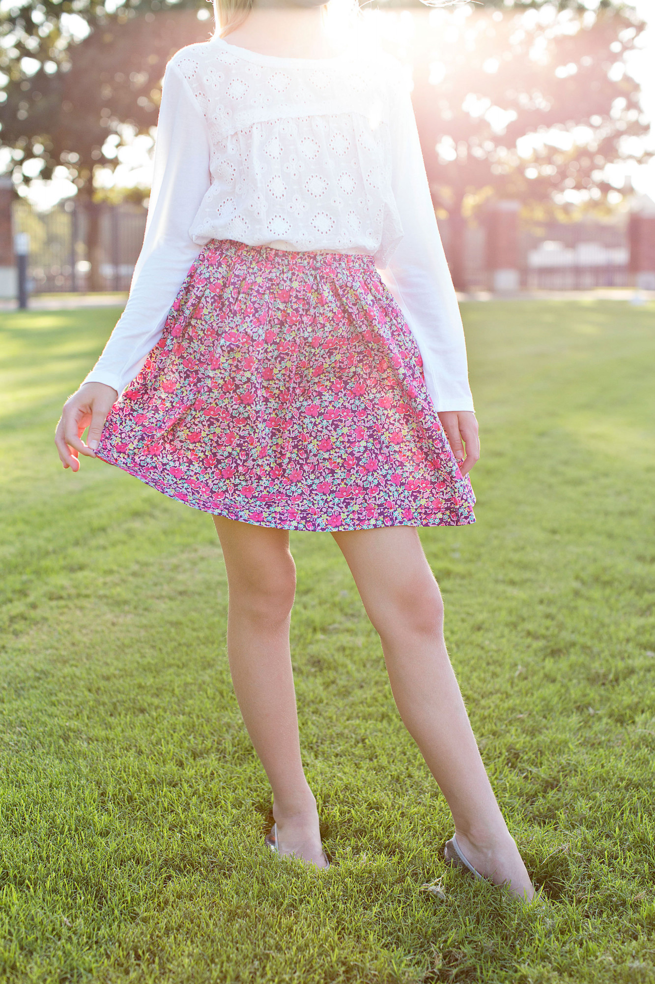 7fa947b577 A Peek skirt I found at Nordstrom in a timeless Liberty print; Photo: Megan  Weaver.