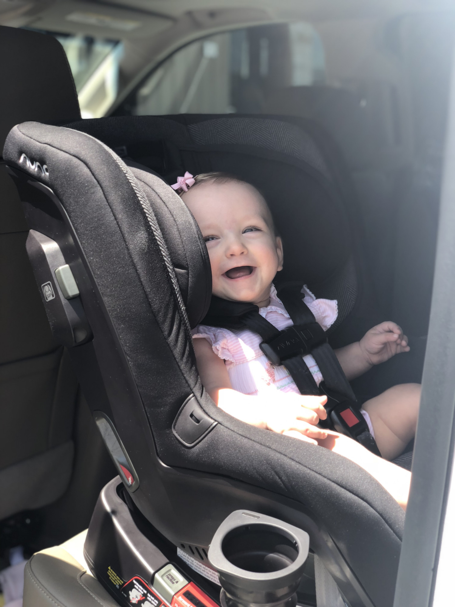 baby in nuna car seat