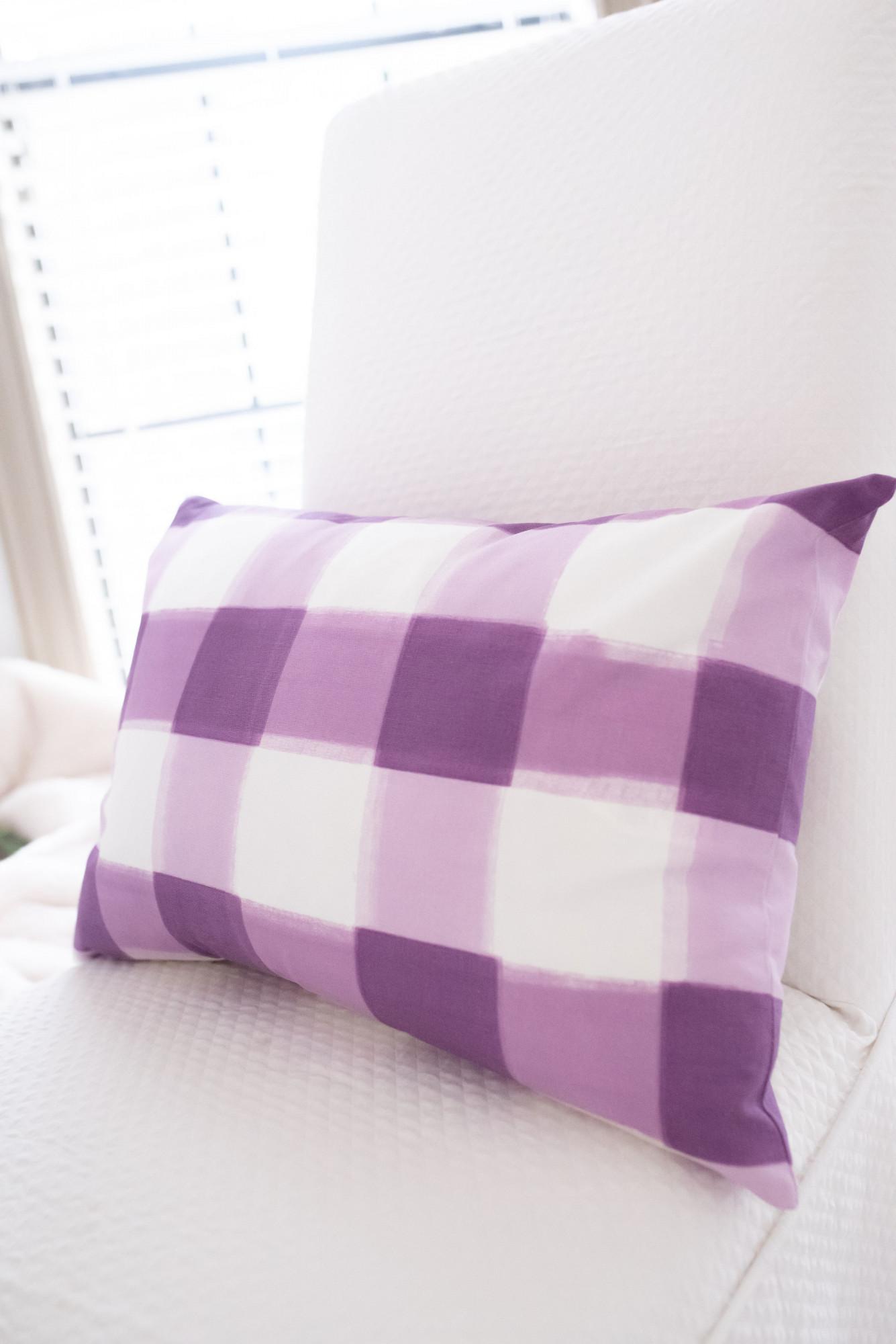 caitlin wilson plaid pillow