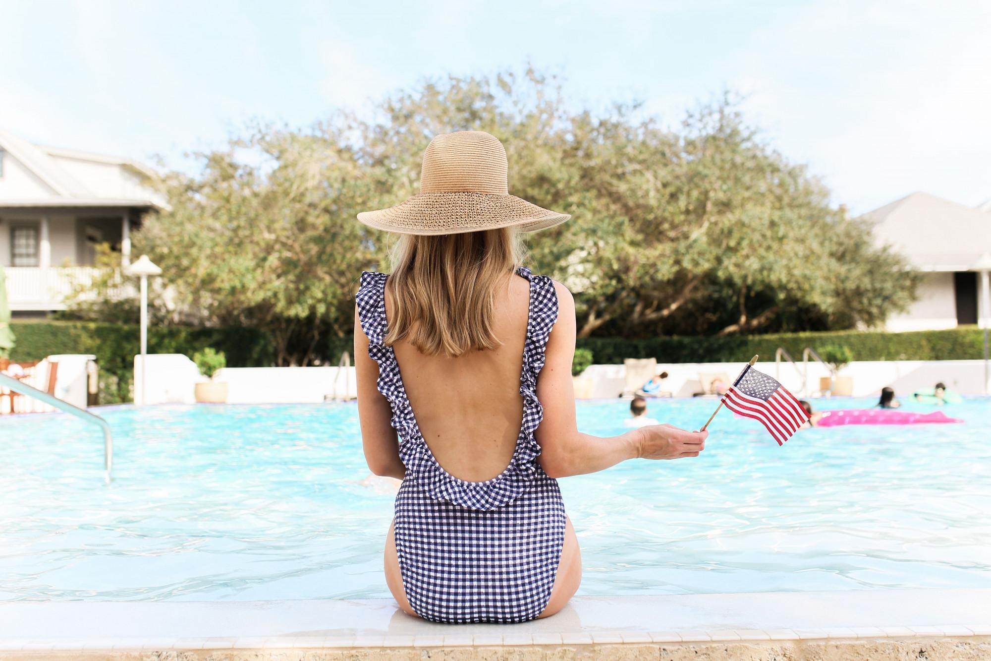 J. Crew swimsuit
