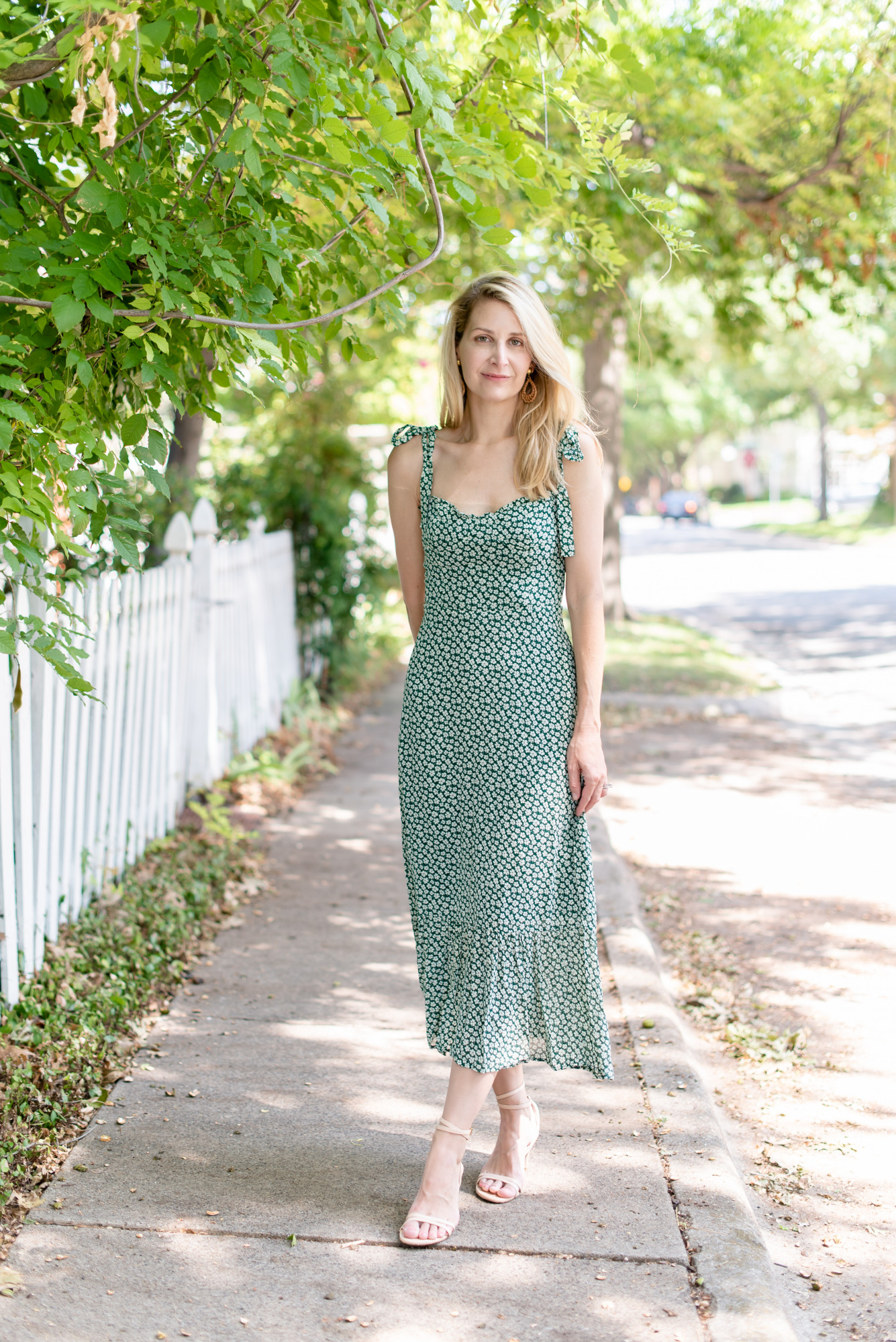 sustainable dress green