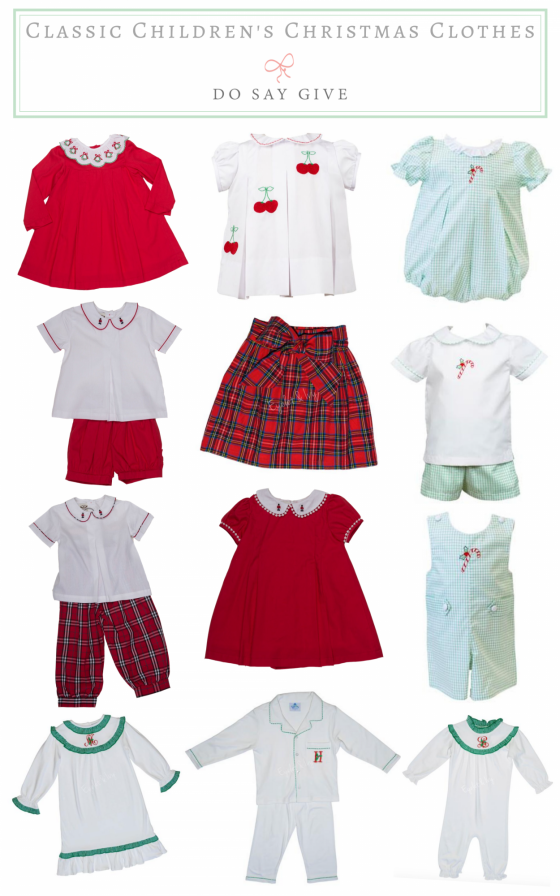 Planning Ahead for Darling Classic Christmas Clothes!