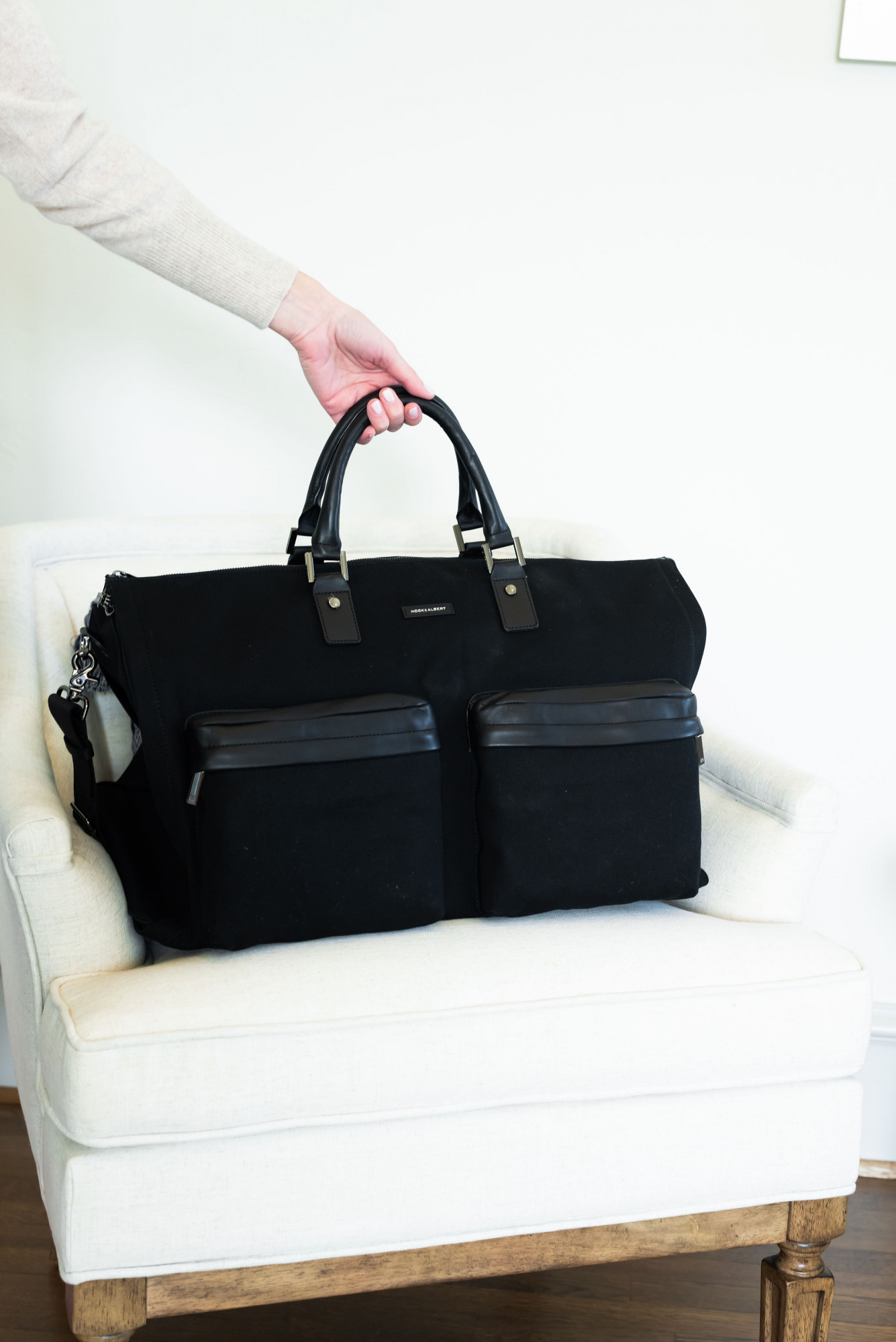 hook and albert bag