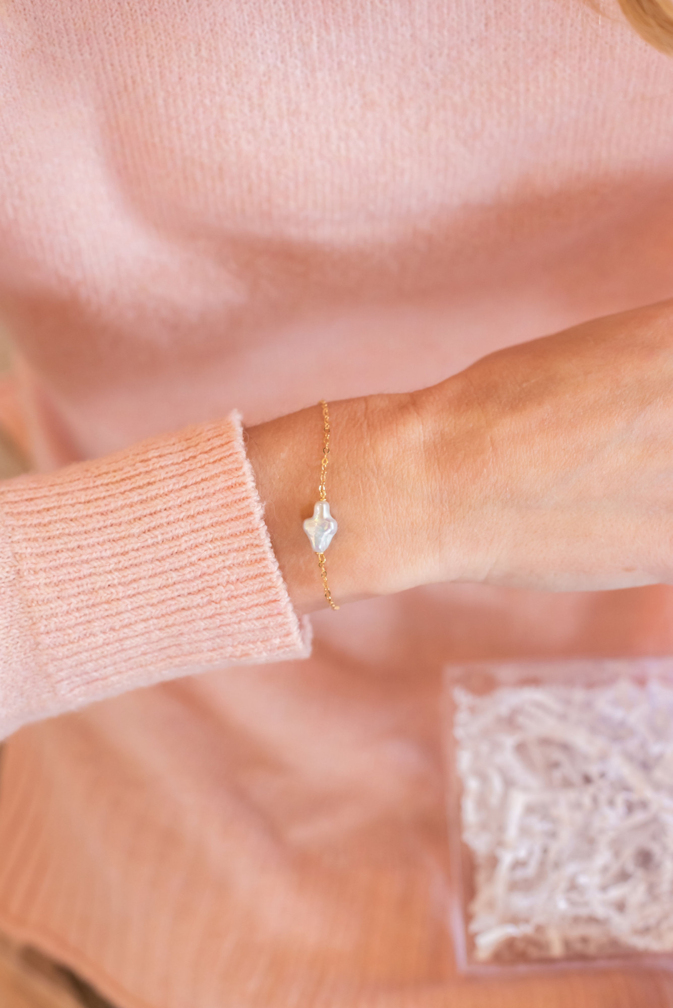cross bracelet first communion