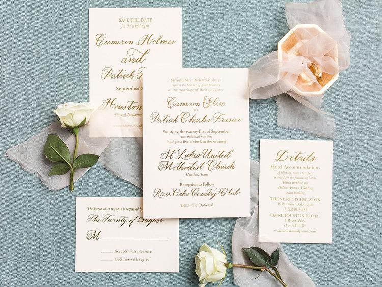 Étiquette pour les invitations de mariage 2