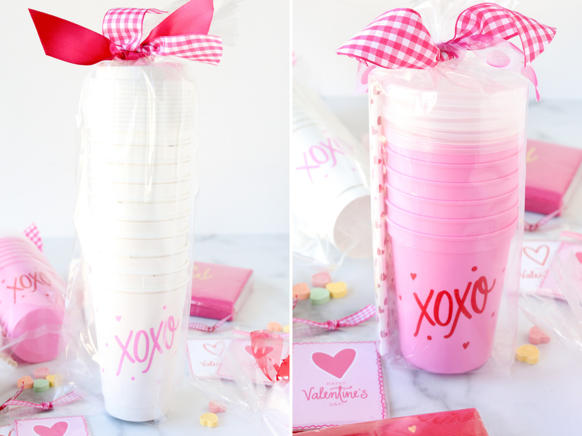 valentines day cups